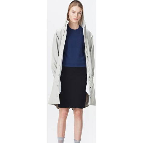 Rains Long Jacket Damen moon