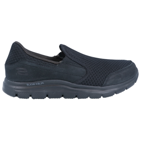 SKECHERS Work Relaxed Fit Slipper schwarz