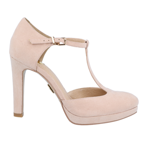 Buffalo Plateau Pumps T-Strap